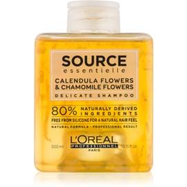 L'Oréal Professionnel Source Essentielle Calendula Flowers & Chamomile Flowers Zachte Shampoo  voor het Haar   300 ml