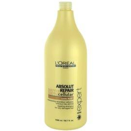 L'Oréal Professionnel Série Expert Absolut Repair Cellular champô para cabelo seco a danificado  1500 ml