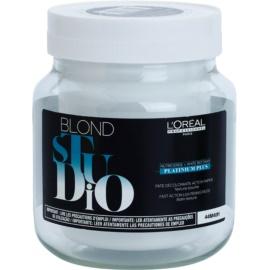 L'Oréal Professionnel Blond Studio Platinium Plus pasta de dinti pentru albire cu un efect mai rapid  500 ml