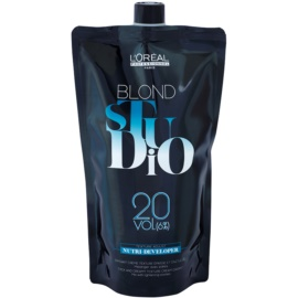 L'Oréal Professionnel Blond Studio Nutri Developer Emulsão ativadora 6% 20 vol.  1000 ml