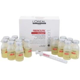 L'Oréal Professionnel Série Expert Fiberceutic serum za poškodovane in kemično obdelane lase  15 x 15 ml
