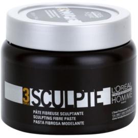 L'Oréal Professionnel Homme 3 Force Sculpte modelovacia pasta stredné spevnenie  150 ml