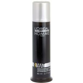 L'Oréal Professionnel Homme 4 Force Mat Modellierende Haarpaste für mattes Aussehen  80 ml