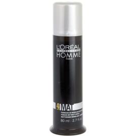 L'Oréal Professionnel Homme 4 Force Mat pasta moldeadora de acabado mate  80 ml