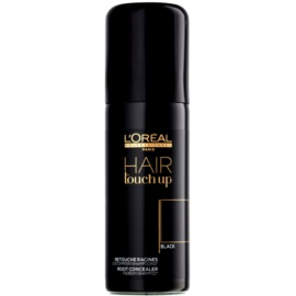 L'Oréal Professionnel Hair Touch Up korektor do odrostów i siwych włosów odcień Black 75 ml
