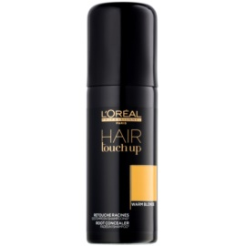 L'Oréal Professionnel Hair Touch Up korektor do odrostów i siwych włosów odcień Warm Blonde 75 ml