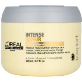 L'Oréal Professionnel Série Expert Intense Repair maseczka regenerująca do włosy suchych, zniszczonych  200 ml