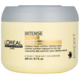 L'Oréal Professionnel Série Expert Intense Repair regenerační maska pro suché, namáhané vlasy  200 ml