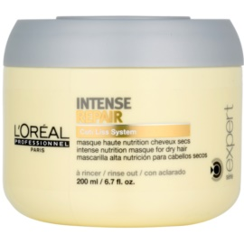 L'Oréal Professionnel Série Expert Intense Repair masca pentru regenerare pantru par uscat si deteriorat   200 ml
