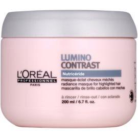 L'Oréal Professionnel Série Expert Lumino Contrast regeneračná maska  pre melírované vlasy  200 ml