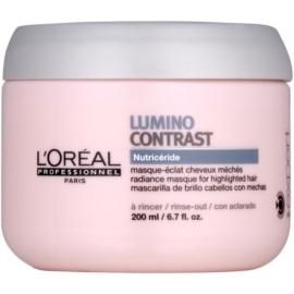 L'Oréal Professionnel Série Expert Lumino Contrast regenerační maska pro melírované vlasy  200 ml