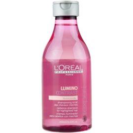 L'Oréal Professionnel Série Expert Lumino Contrast Shampoo mit ernährender Wirkung für helles meliertes Haar  250 ml