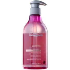 L'Oréal Professionnel Série Expert Lumino Contrast Shampoo mit ernährender Wirkung für helles meliertes Haar  500 ml