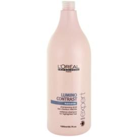 L'Oréal Professionnel Série Expert Lumino Contrast Shampoo mit ernährender Wirkung für helles meliertes Haar  1500 ml