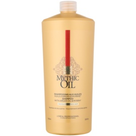 L'Oréal Professionnel Mythic Oil Shampoo für kräftiges und widerspenstiges Haar  1000 ml
