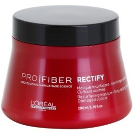 L'Oréal Professionnel Pro Fiber Rectify mascarilla regeneradora para cabello fino y normal  200 ml