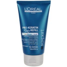 L'Oréal Professionnel Série Expert Pro-Keratin Refill регенериращ крем за изтощена коса  150 мл.