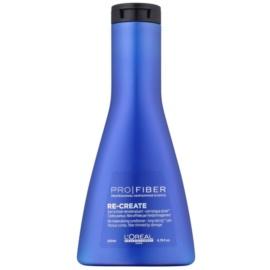 L'Oréal Professionnel Pro Fiber Re-Create obnovující kondicionér pro jemné a poškozené vlasy  200 ml