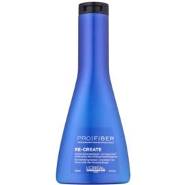 L'Oréal Professionnel Pro Fiber Re-Create megújító sampon finom és sérült hajra  250 ml
