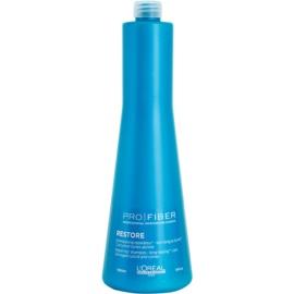 L'Oréal Professionnel Pro Fiber Restore obnovující šampon pro poškozené, chemicky ošetřené vlasy  1000 ml