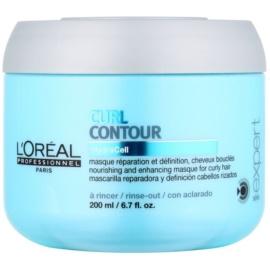L'Oréal Professionnel Série Expert Curl Contour masca hranitoare pentru par cret  200 ml