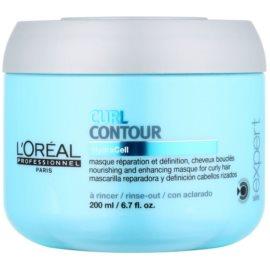 L'Oréal Professionnel Série Expert Curl Contour tápláló maszk hullámos és dauerolt hajra  200 ml