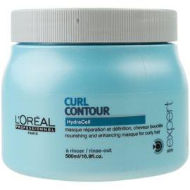 L'Oréal Professionnel Série Expert Curl Contour vyživující maska pro vlnité a trvalené vlasy  500 ml