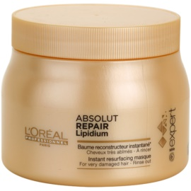 L'Oréal Professionnel Série Expert Absolut Repair Lipidium Regenerierende Maske für stark geschädigtes Haar  500 ml