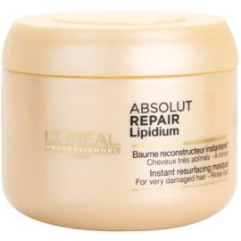 L'Oréal Professionnel Série Expert Absolut Repair Lipidium regeneráló maszk nagyon sérült hajra  200 ml