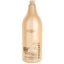 L'Oréal Professionnel Série Expert Absolut Repair Lipidium Shampoo mit ernährender Wirkung für stark geschädigtes Haar  1500 ml