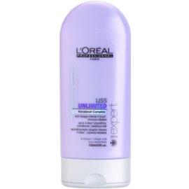 L'Oréal Professionnel Série Expert Liss Unlimited uhlazující kondicionér pro nepoddajné a krepatějíci se vlasy  150 ml