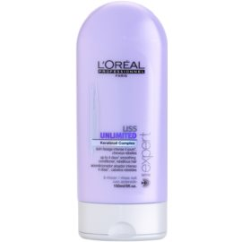 L'Oréal Professionnel Série Expert Liss Unlimited uhlazující kondicionér pro nepoddajné a krepatějící se vlasy  150 ml