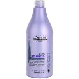 L'Oréal Professionnel Série Expert Liss Unlimited uhlazující kondicionér pro nepoddajné a krepatějíci se vlasy  750 ml