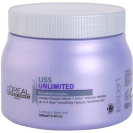 L'Oréal Professionnel Série Expert Liss Unlimited mascarilla alisado para cabello encrespado y rebelde  500 ml