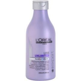 L'Oréal Professionnel Série Expert Liss Unlimited glättendes Shampoo für unnachgiebige und strapaziertes Haar  250 ml