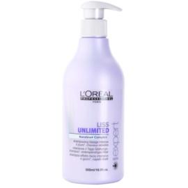 L'Oréal Professionnel Série Expert Liss Unlimited uhlazující šampon pro nepoddajné a krepatějící se vlasy  500 ml