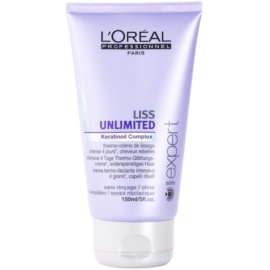L'Oréal Professionnel Série Expert Liss Unlimited glättende Creme für unnachgiebige und strapaziertes Haar  150 ml