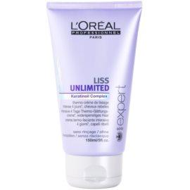 L'Oréal Professionnel Série Expert Liss Unlimited uhlazující krém pro nepoddajné a krepatějící se vlasy  150 ml