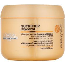 L'Oréal Professionnel Série Expert Nutrifier подхранваща маска  за суха и увредена коса  без силикони  200 мл.