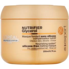 L'Oréal Professionnel Série Expert Nutrifier Maske mit ernährender Wirkung für trockenes und beschädigtes Haar ohne Silikone  200 ml
