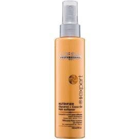 L'Oréal Professionnel Série Expert Nutrifier Feuchtigkeitspflege zur Nutzuung vor der Haarwäsche für trockenes und beschädigtes Haar ohne Silikone  150 ml