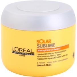 L'Oréal Professionnel Série Expert Solar Sublime Maske mit ernährender Wirkung für von der Sonne überanstrengtes Haar  200 ml