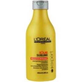 L'Oréal Professionnel Série Expert Solar Sublime відновлюючий шампунь для волосся пошкодженого сонцем  250 мл