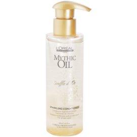 L'Oréal Professionnel Mythic Oil Souffle d´Or gelový kondicionér pro lesk a hebkost vlasů  190 ml