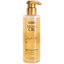 L'Oréal Professionnel Mythic Oil Souffle d´Or vyživující šampon pro lesk a hebkost vlasů  250 ml