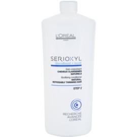 L'Oréal Professionnel Serioxyl GlucoBoost + Incell balzam za naravne lase, ki se redčijo  1000 ml