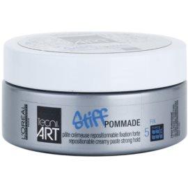 L'Oréal Professionnel Tecni Art Stiff pasta cremosa fixação forte  75 ml