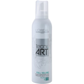 L'Oréal Professionnel Tecni.Art Full Volume mousse de fixação forte para dar volume  250 ml