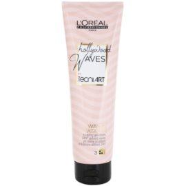 L'Oréal Professionnel Tecni Art Hollywood Waves гел-крем за фиксиране и оформяне  150 мл.