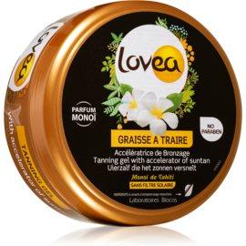 Lovea Tanning Gel Monoi Gel-Creme für intensive Bräunung 150 ml